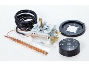 Термостат капілярний регульований Imit (Італія) для котлів Tenko серії Стандарт, Стандарт Плюс